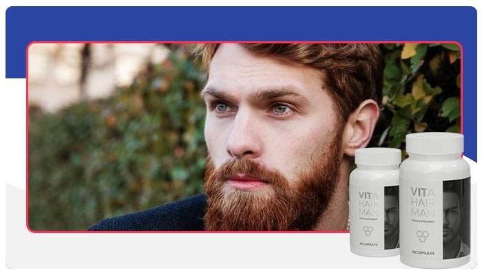 Pokyny: Jak používat Vita Hair Man?